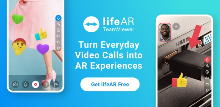 TeamViewer introduces LifeAR: Fix problems remotely with video call assistance