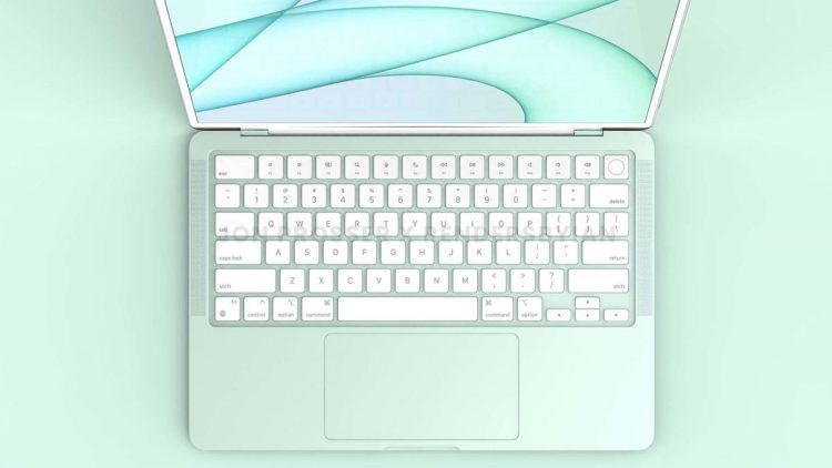 Colored MacBook Airs to arrive in 2022 with a new M2 chip
