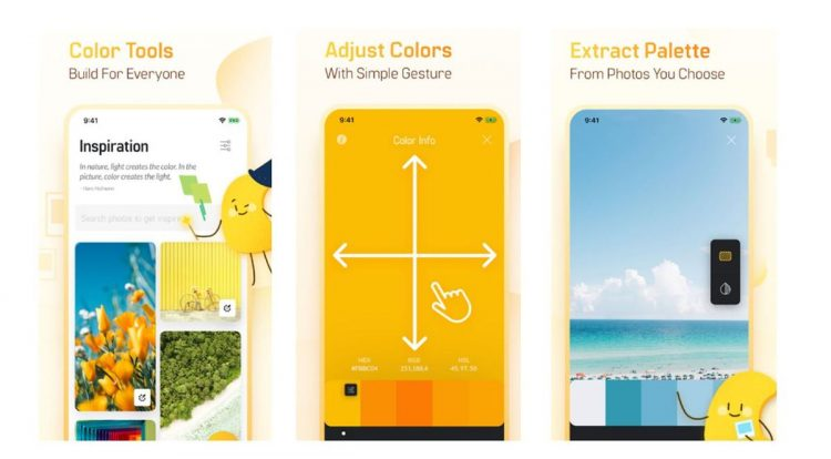 Colorgizes, extract color palettes from your photos