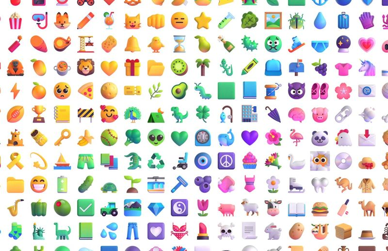 Microsoft redesigns more than 1,800 3D emojis for Windows, Office, and Teams with the return of Clippy as the main protagonist
