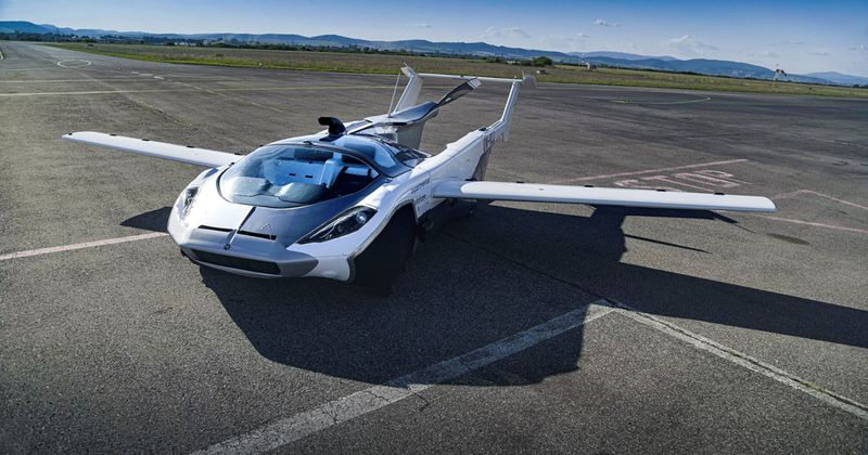 Klein Vision: The first test of a car flying from city to city