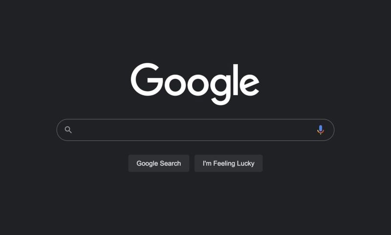 Google starts rolling out dark mode in the search engine