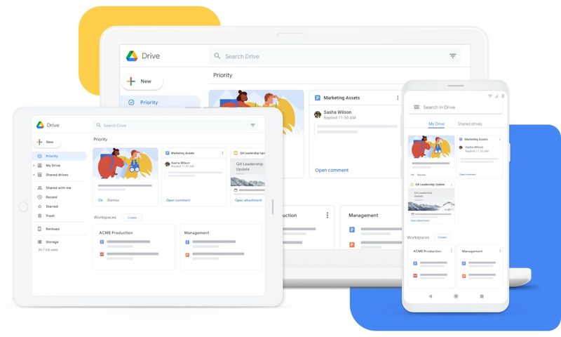 Google Drive for PC adds support for photos and multiple accounts