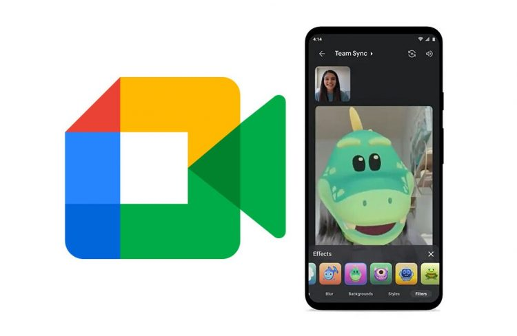 Google Meet debuts Google Duo filters, masks, and styles