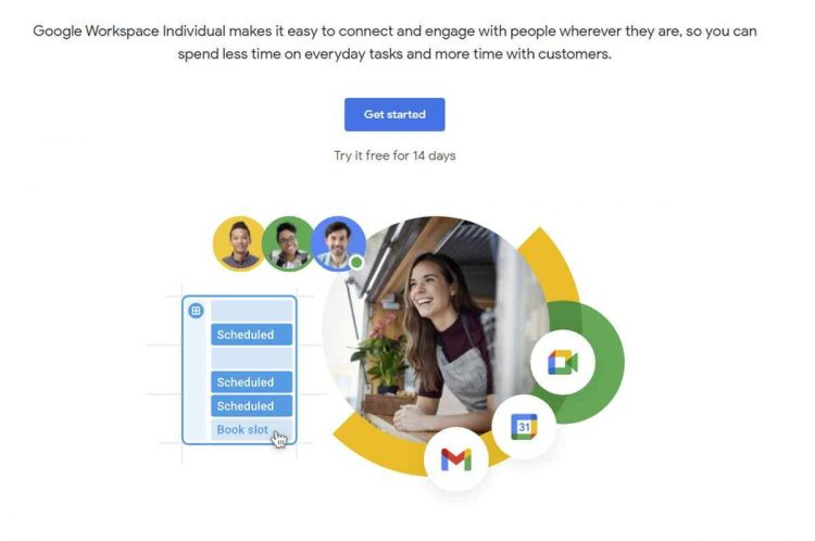 This is Google Workspace Individual, Google's offer for one-person professionals