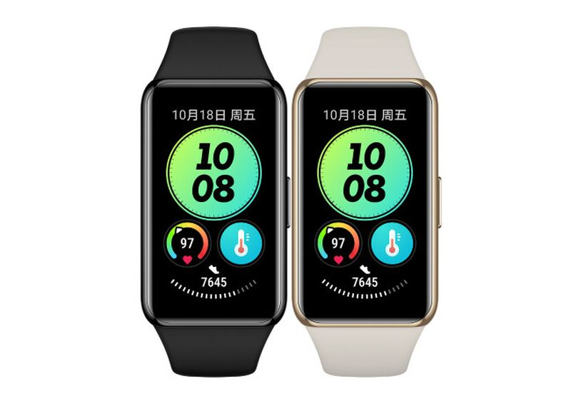 Huawei Band 6 Pro: Cheap, with NFC and body temperature sensor