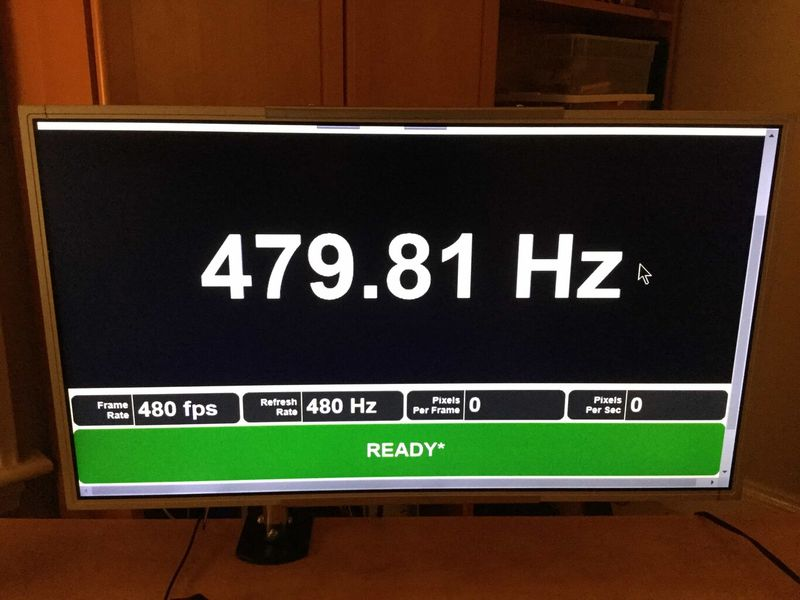 480Hz monitors: LG and AUO prepare new LCD panels to achieve higher refresh rate quotas