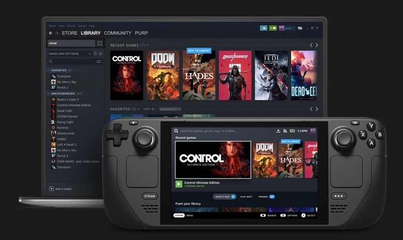 Valve announces Steam Deck, its own Nintendo Switch for PC games