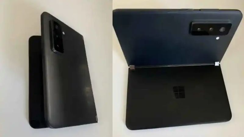 First photos of the Surface Duo 2: Separate displays and triple cameras