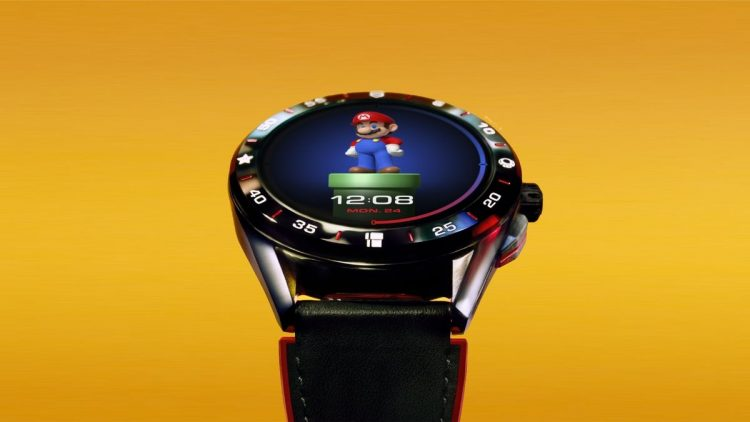 Tag Heuer Connected watch comes with Super Mario in a limited edition