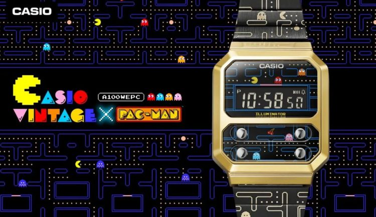 Pure 80s nostalgia: Casio launches the PAC-MAN watch, with a design from 1978