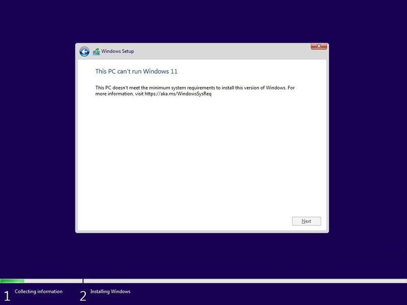 This method allows Windows 11 to be installed on computers that do not have the TPM 2.0 chip