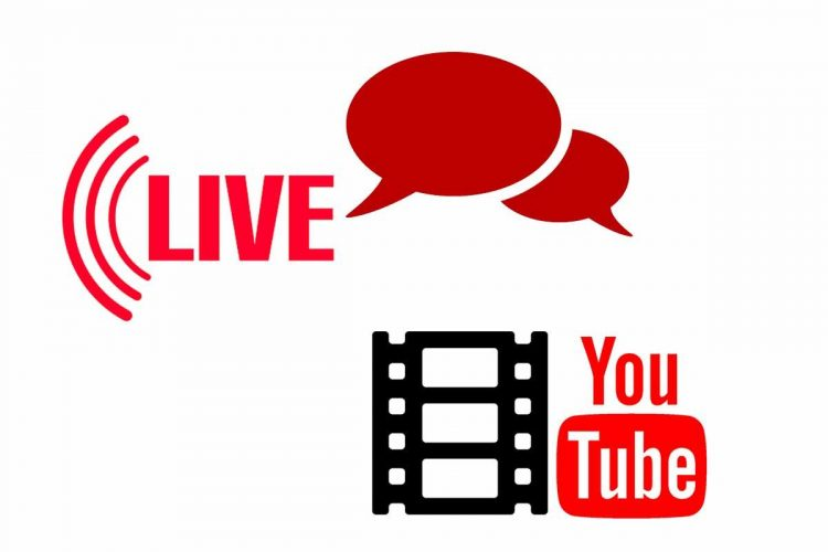 How to participate in a live chat on Youtube?
