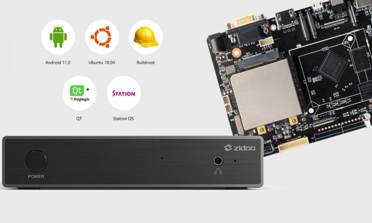 Zidoo M6, a Linux mini-PC board featuring up to 5G