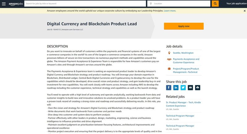 Amazon denies everything: Will not accept bitcoin as a form of payment