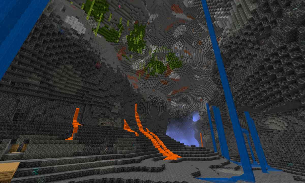 Experimental snapshots of Minecraft 1.18 are finally revealed