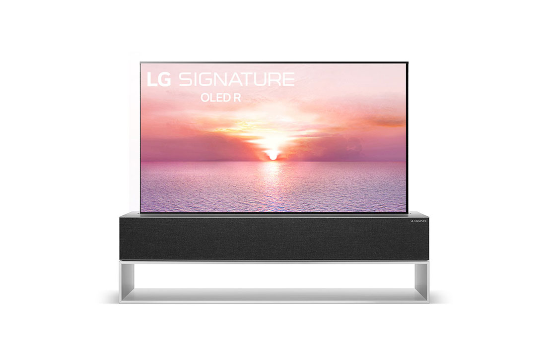 LG's rollable OLED TV is coming to the U.S with a $100.000 price tag