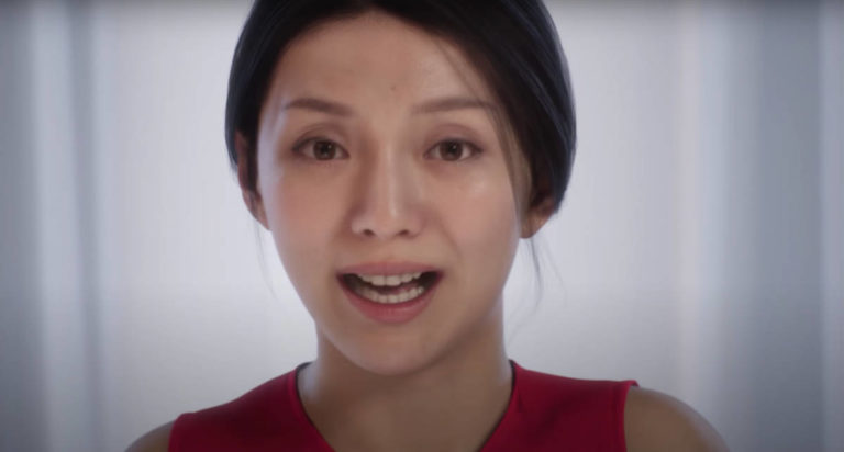 These realistic human face designs are created by MetaHuman Creator of Epic Games