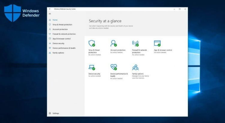 What to do if Windows Defender is disabled by a virus on Windows 10?