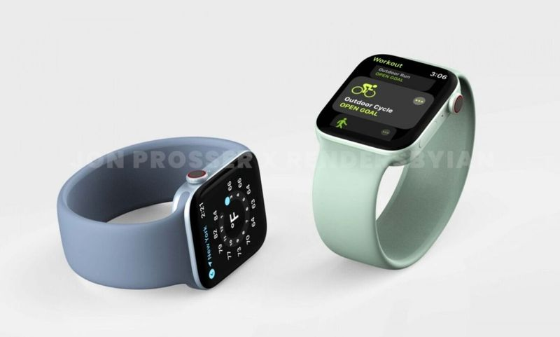 Apple Watch Series 7 to increase in size to 41 and 45 millimeters, according to new rumors