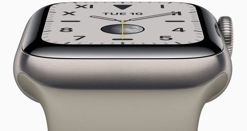 Apple runs out of titanium Apple Watch Series 6 in stock