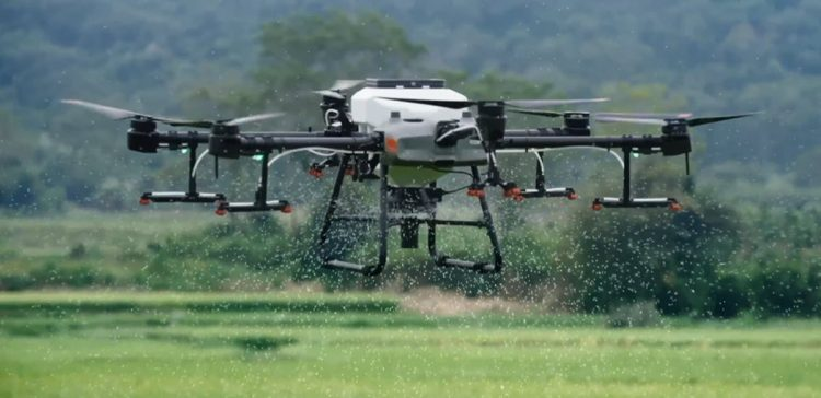 DJI introduces its new drones for crop spraying and crop monitoring