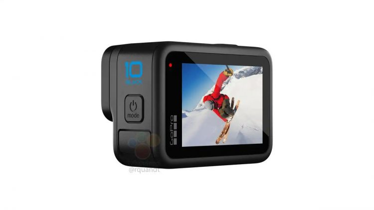 The new GoPro Hero 10 leaks: Better stabilization and 4K video at 120 fps