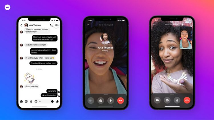 Facebook brings end-to-end encryption to Messenger calls and video calls