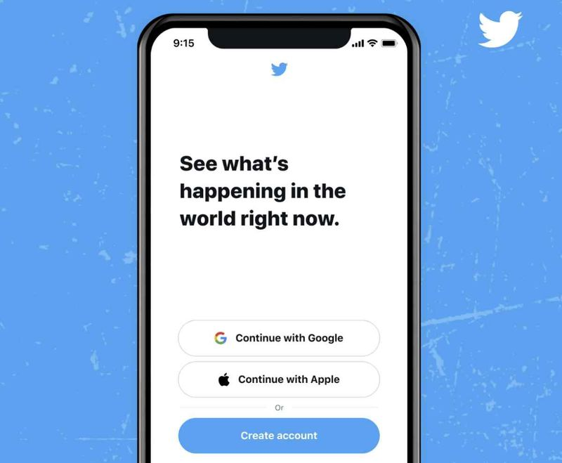 Twitter for iOS now allows Apple accounts to be used for login