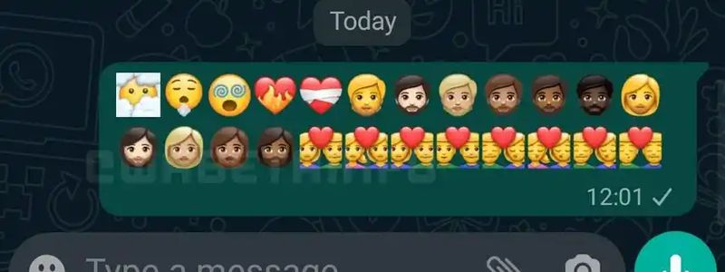 WhatsApp for Android gets updated with 24 new emojis