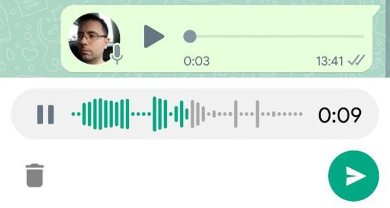 WhatsApp revamps its voice recorder in its beta: You can listen to your message before sending it
