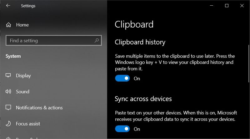 How to sync the Windows 10 clipboard with your Android cell phone?