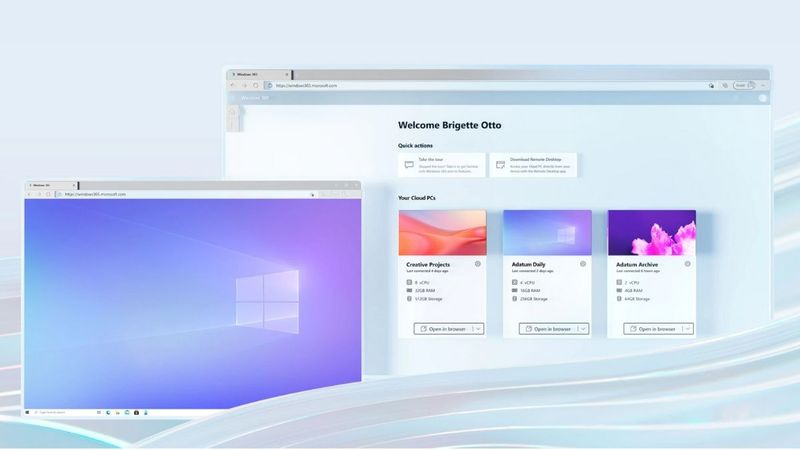 Microsoft released Windows 365, its cloud-based operating system
