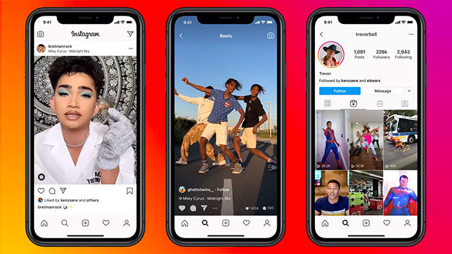 Facebook Reels is being tested in the US to compete with TikTok