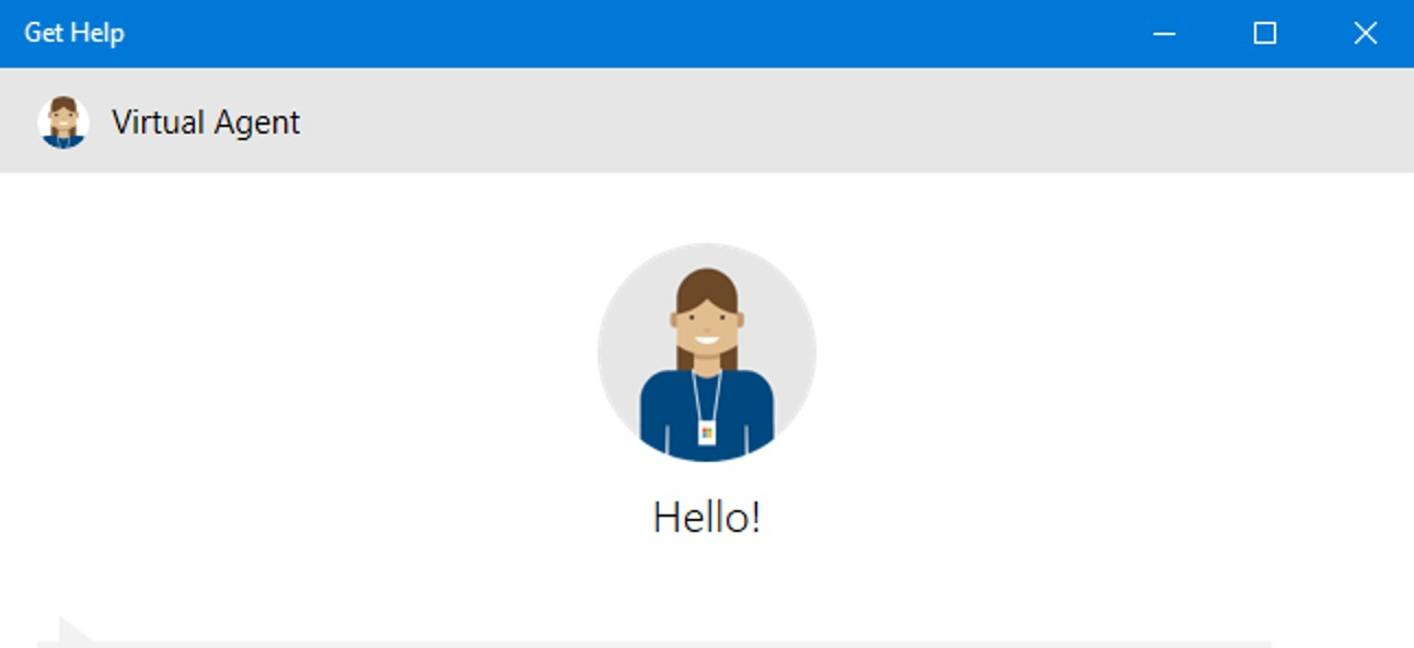 How to get help from Microsoft technical support in Windows 10?
