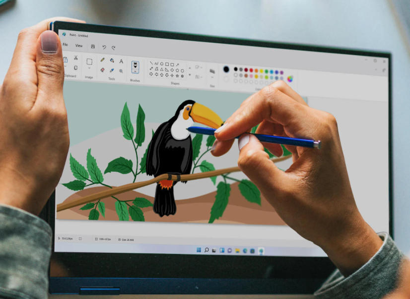 Microsoft Paint is leaked with its new design for Windows 11