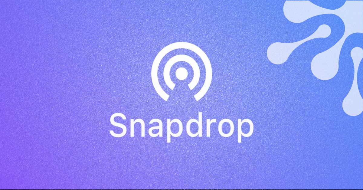 Meet Snapdrop: Free AirDrop alternative for Android devices