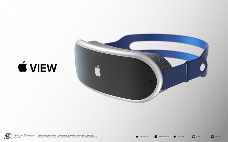 Apple VR/AR headsets will rely on external mobile devices, report says