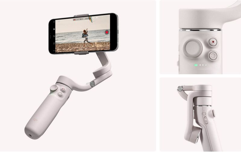 The DJI OM 5 undergoes a redesign