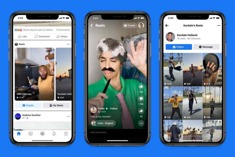 Reels on Facebook is launched: TikTok-like short videos are now live on the social network