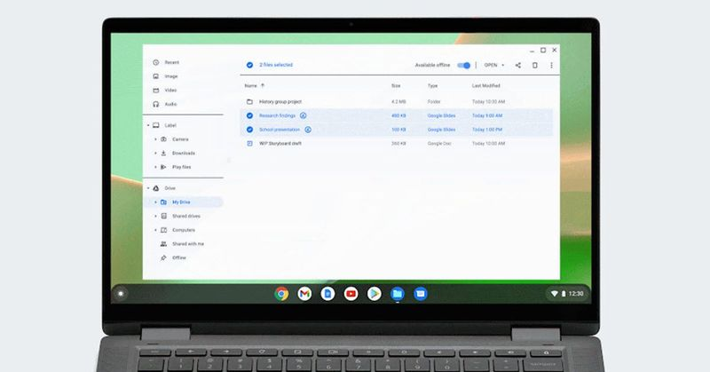 Google Drive now allows offline storage of all types of files