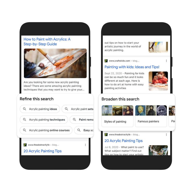 Google Search On: Search engine is improved with AI-supported features