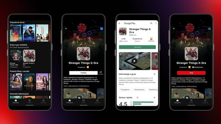 Netflix adds 5 games to its Android app