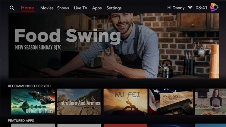 LG's new Smart TV operating system, River OS