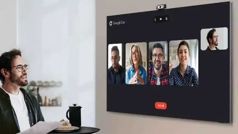 Samsung TVs allow video calls with Google Duo