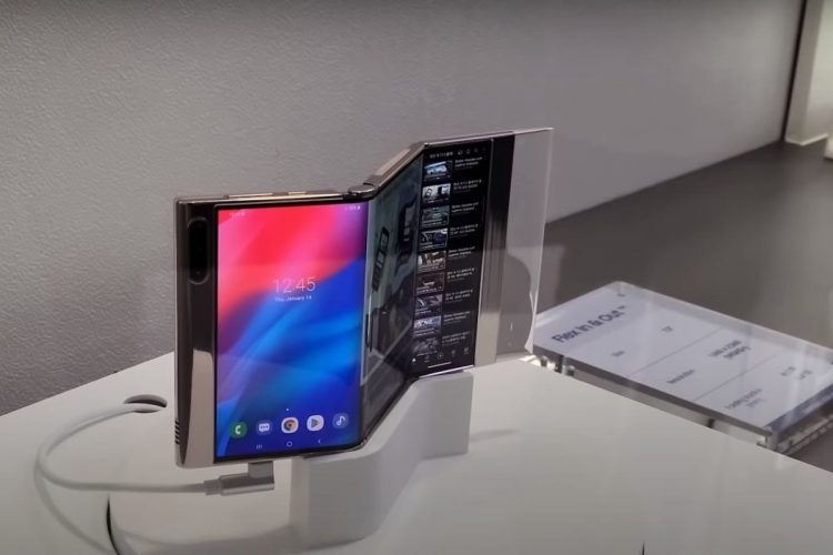 Here is Samsung Flex In & Out: A double-folding Galaxy Fold prototype