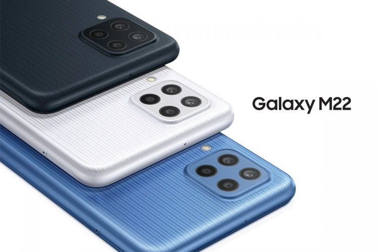 Samsung Galaxy M22: Mid-range with 90Hz AMOLED display, large battery, and 25W fast charge