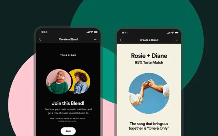 How to create a playlist with friends using Spotify Fusion?