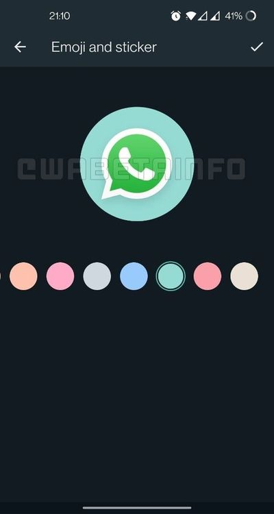 WhatsApp prepares an icon editor for groups