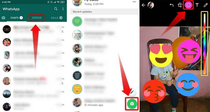 How to change the color of WhatsApp emojis?